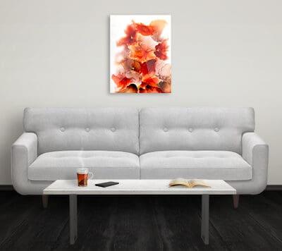 Jana Gamble | Intuitive Art Charlottesville | Fire
