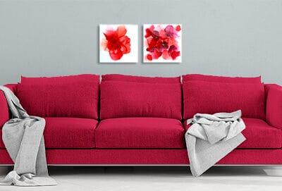Jana Gamble   Intuitive Art Charlottesville   Poppies