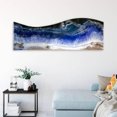 Jana Gamble | Intuitive Original Art Charlottesville | Ocean