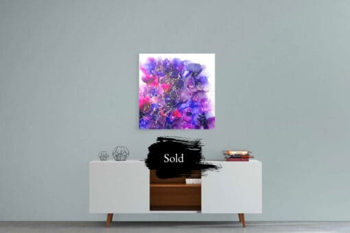 Jana Gamble   Original Art for Sale   Cosmos Sold