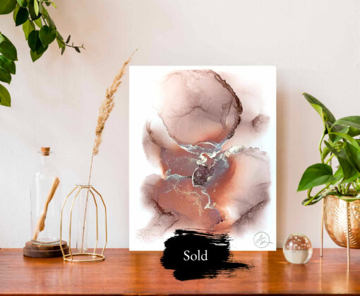 Jana Gamble   Original Art for Sale   Sempiternal Sold