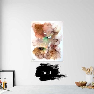 Jana Gamble   Original Art for Sale   Petrichor Sold