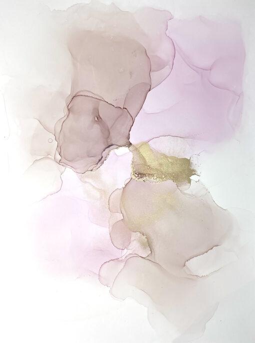 Jana Gamble | Original Art for Sale | Kiss Closeup
