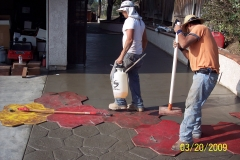 Concrete Stamping Process (3)