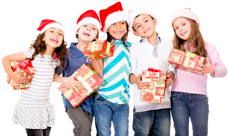 happy holiday kids
