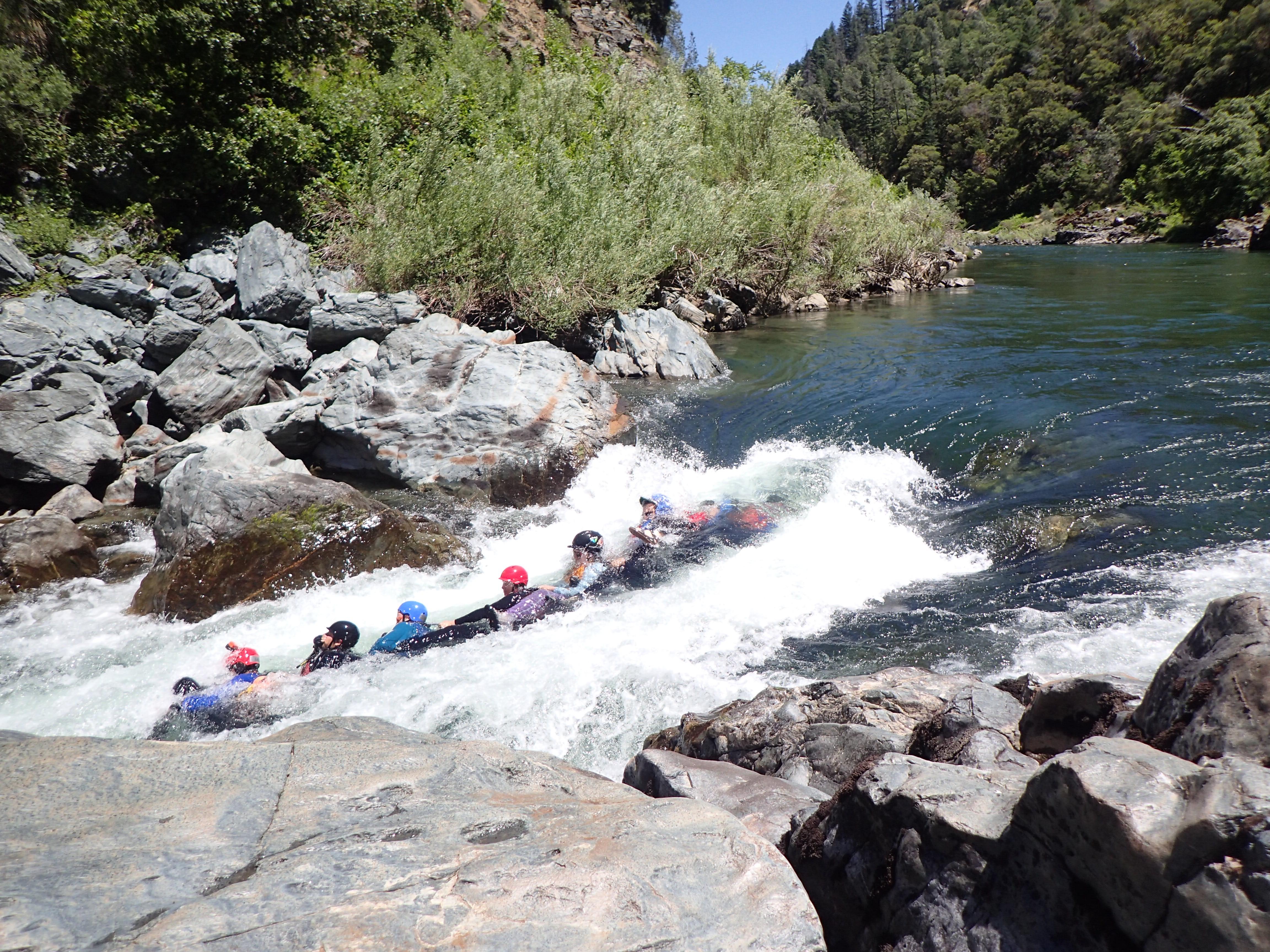 Swimming Rapids