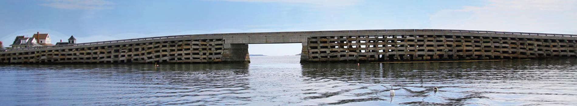 Image is of the cribstone bridge.