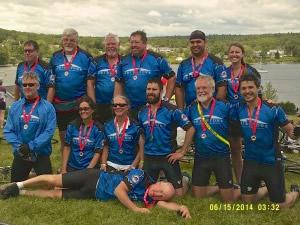 Team Cribstone at the 2014 Trek Across Maine.