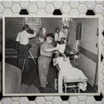 Hard at work at the Morgue (Circa 1950s)