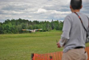 Student with an awesome glide slope going on
