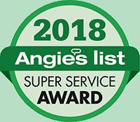2018 Angie's List Super Service Award Logo