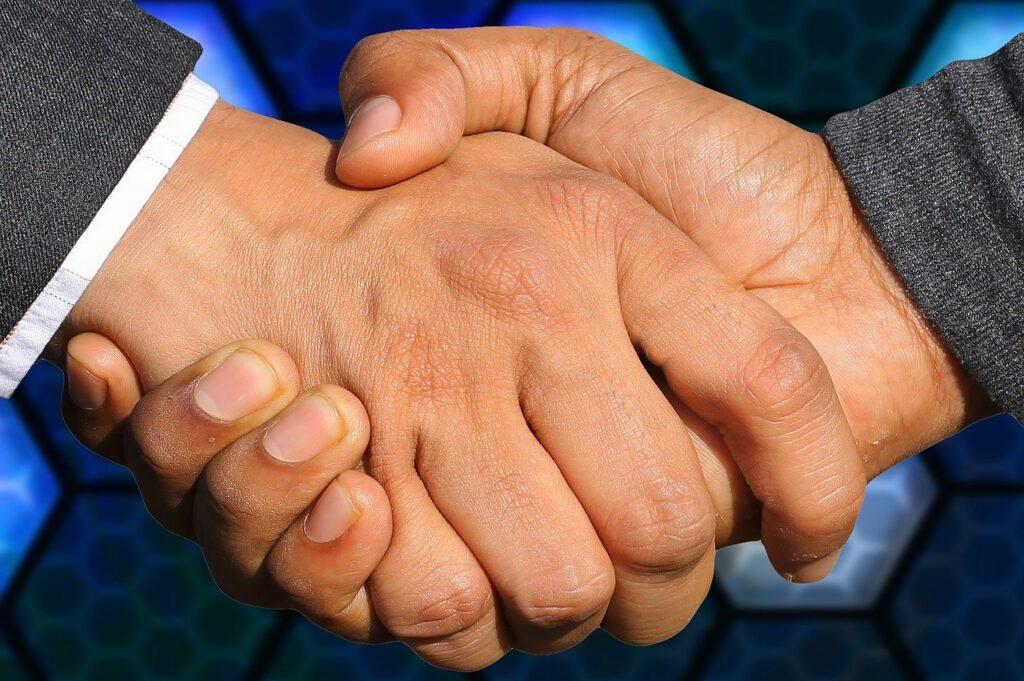 handshake, business, agreement