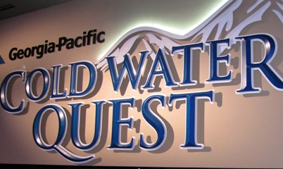 Option Signs Georgia Pacific Cold Water Quest