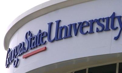 Option Signs Custom Graphics School University College Georgia State University