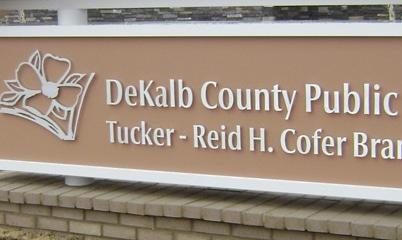 Option Signs Custom Graphics School University College DeKalb County Tucker - Reid