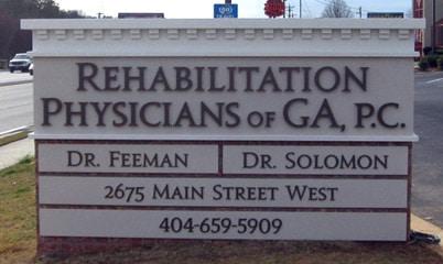 Option Signs Custom Signs Brick Healthcare Hospital