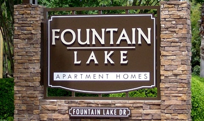 Option Signs Custom Signs Apartment Homes Fountain Lake