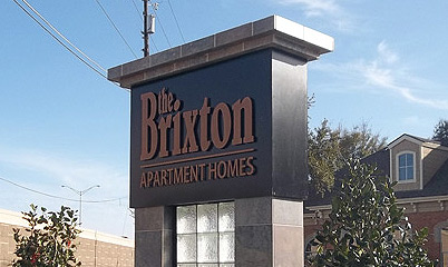 Option Signs Custom Signs Apartment Homes The Brixton