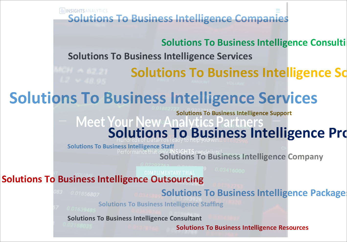 Solutions-To-Business-Intelligence