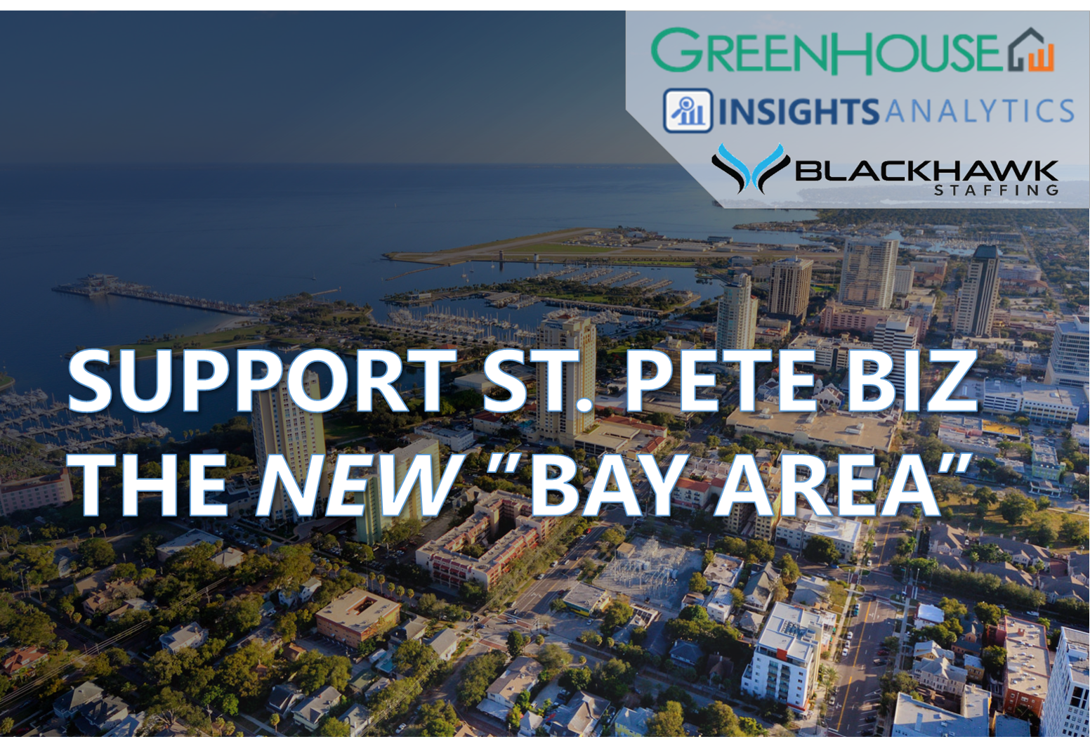 Support St. Pete Biz, the NEW Bay Area