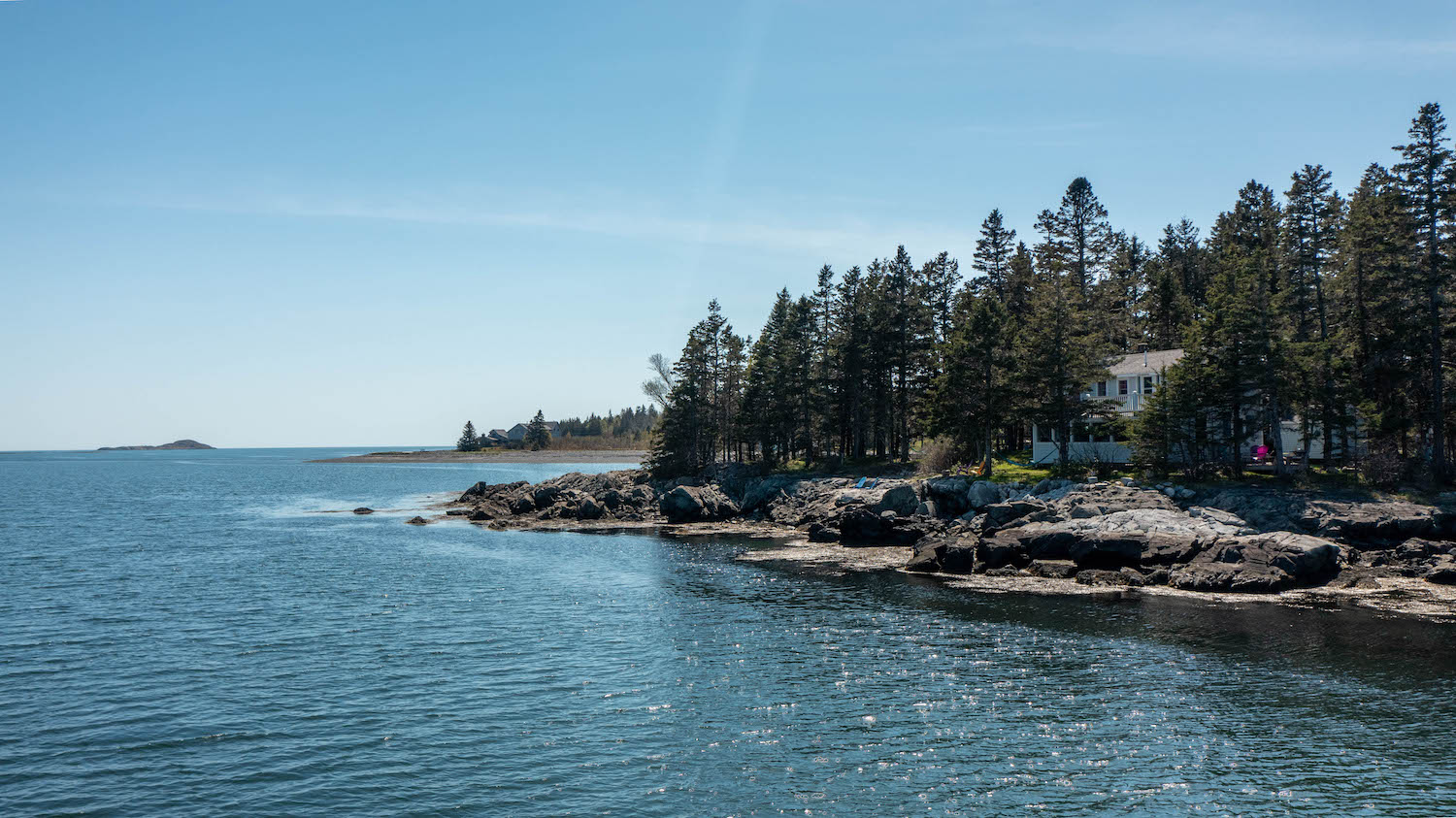 Waterfront Home - Mill Point on Starboard Cove, Machiasport Maine