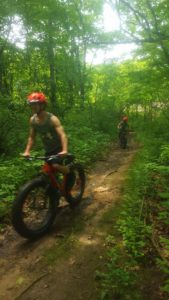 Mom and Son FATbike Guided Tour!