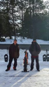 Snowshoe and fat bike, access the backcountry!