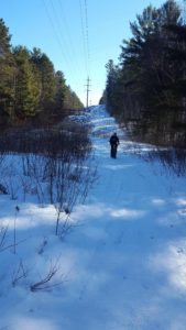 Guided Snowbike Tour on our Trail, HVN