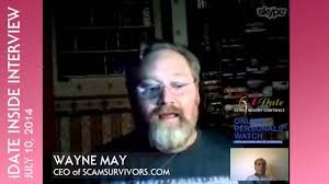 Interview with Wayne May, 2014