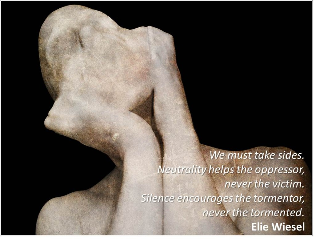 Victim Elie Wiesel Quote