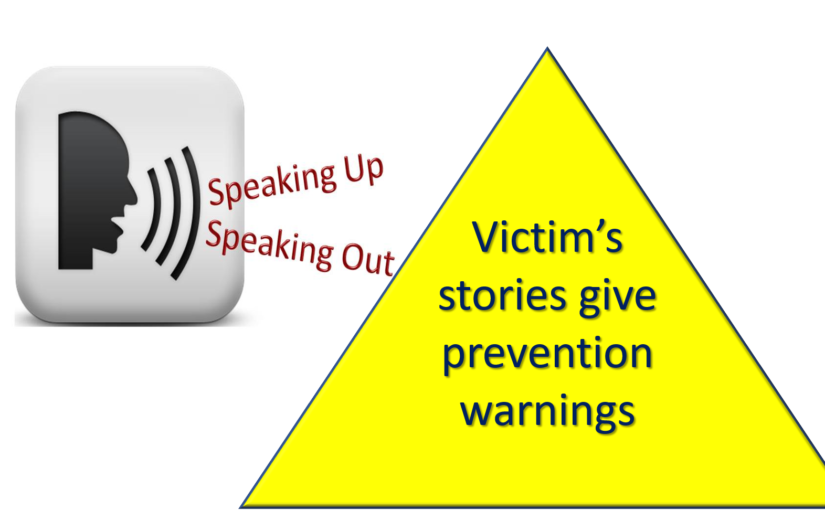 Victim stories as a prevention strategy