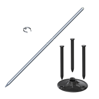 Universal MegaPlate Kit with Stake (Silver)