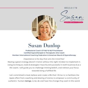 Meet Susan Dunlop, Women's Coach and Mentor