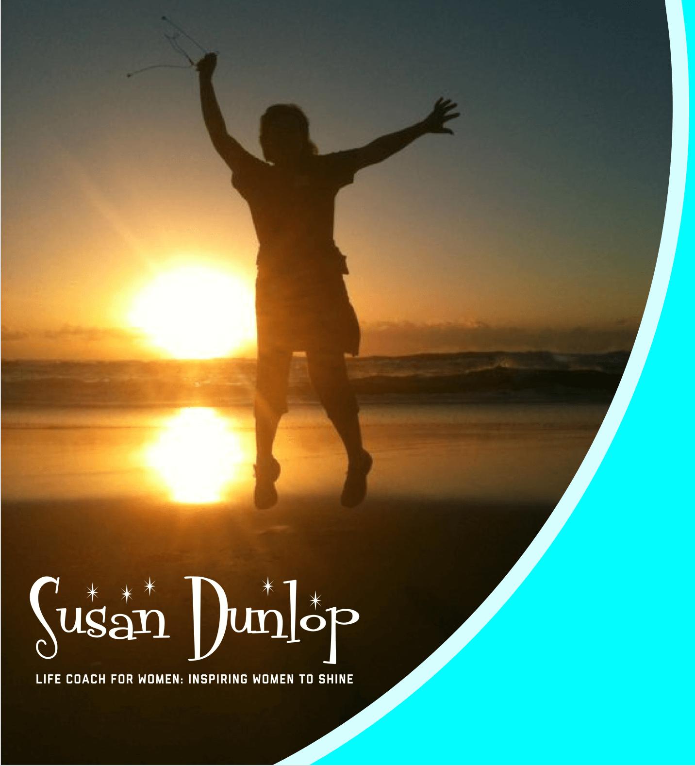 Seeking change. Susan at dawn 2011