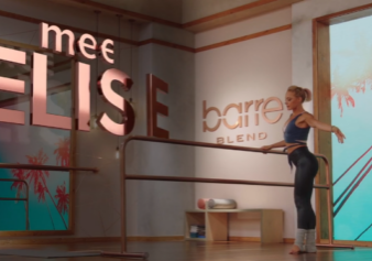 Elise Joan at the Barre