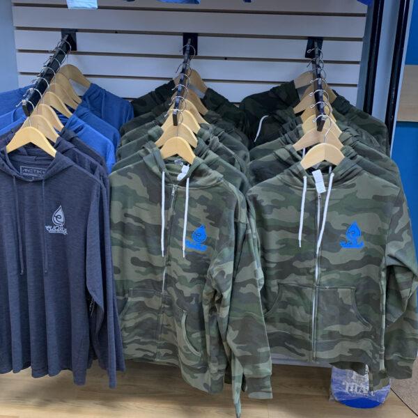 Evolve Camo full zip hoodie for sale