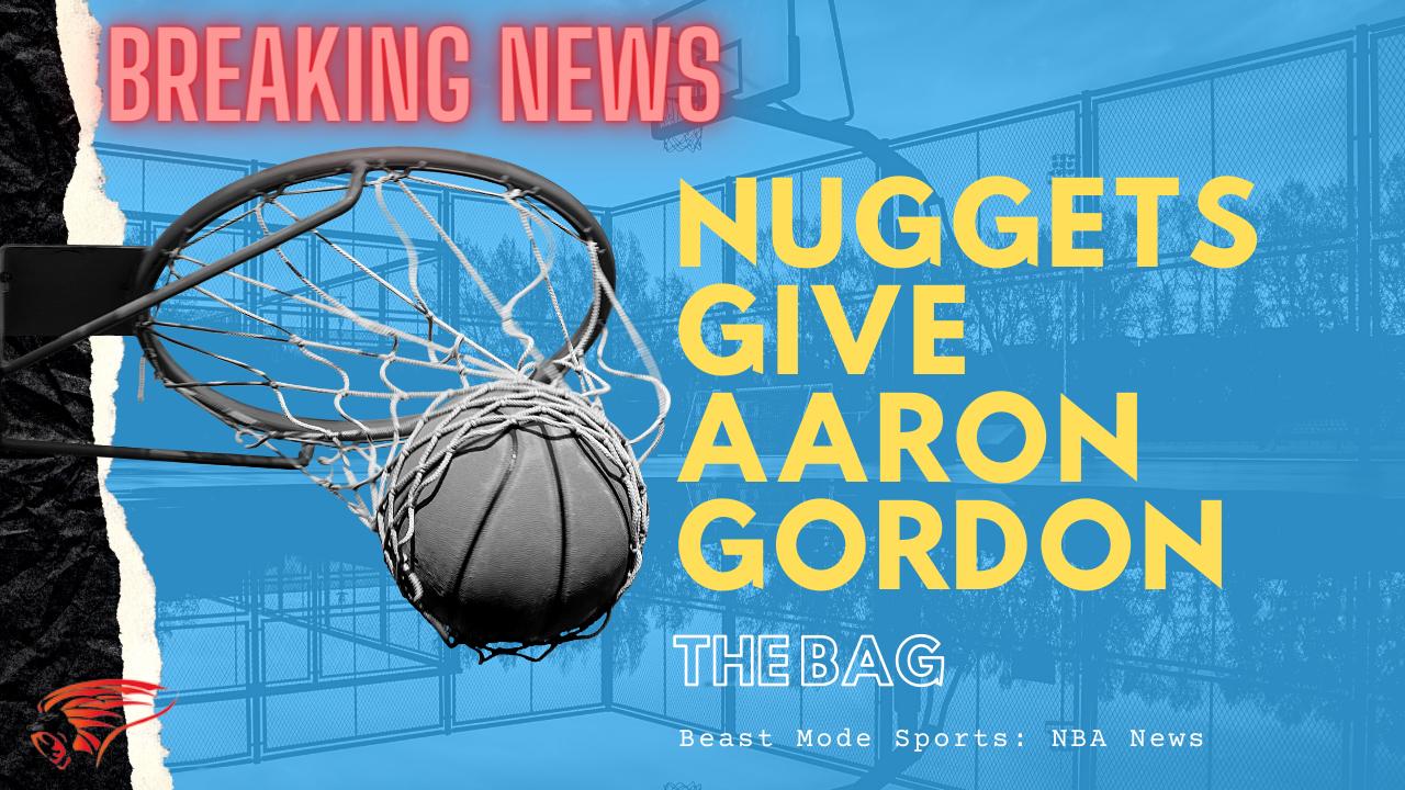 Aaron Gordon get a new deal