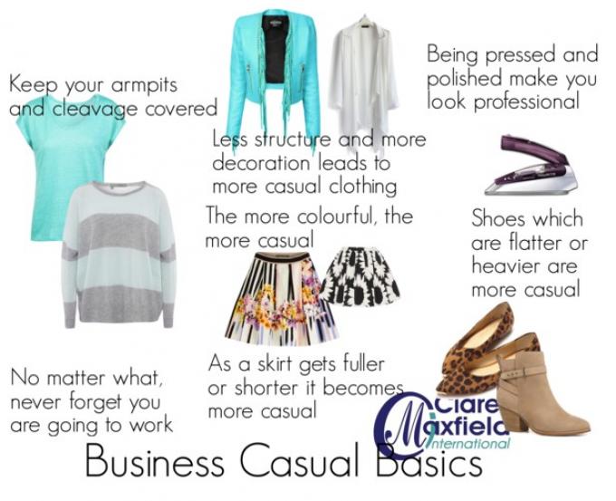 Business casual basics
