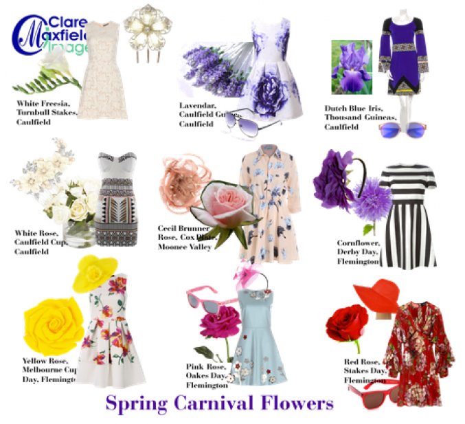 Spring Racing Carnival colours & Style
