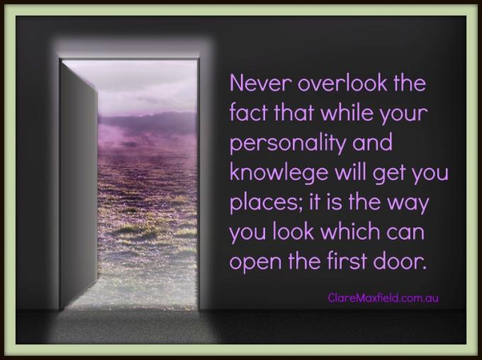 THE doorway to success