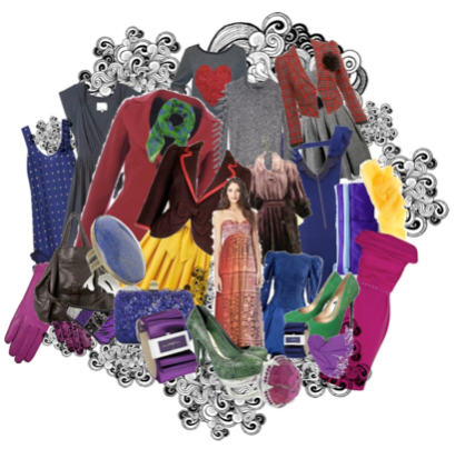 Polyvore image created by Diana Lambert a past student