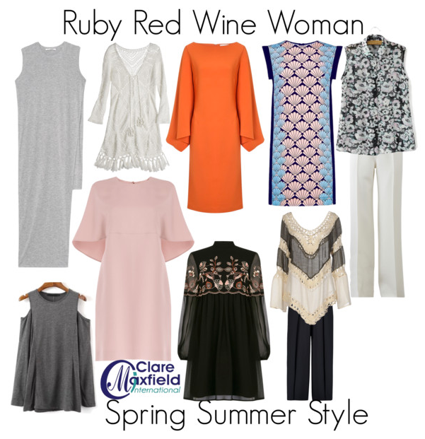 How to dress the Red Wine Woman