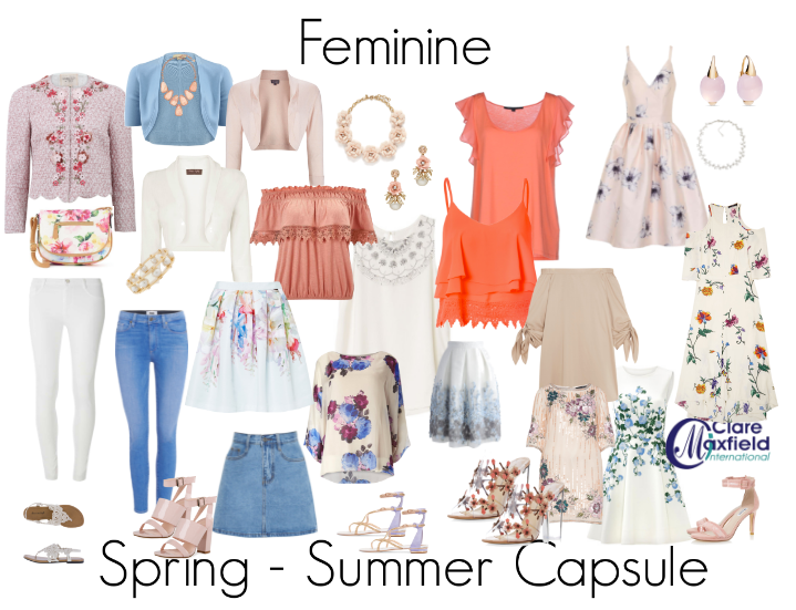 Upcoming Feminine Personality Style Trend and Capsule Report 2016