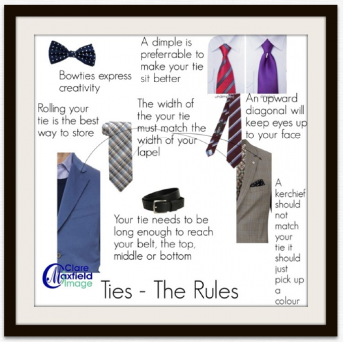 Ties – The rules