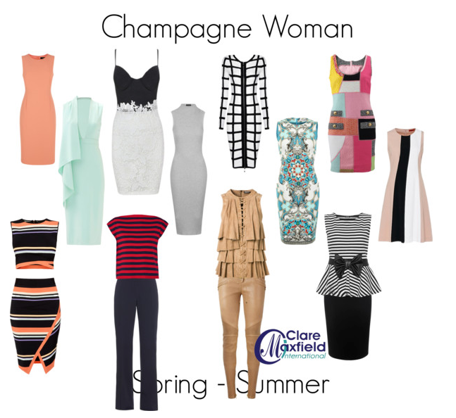 How to dress the Champagne Woman