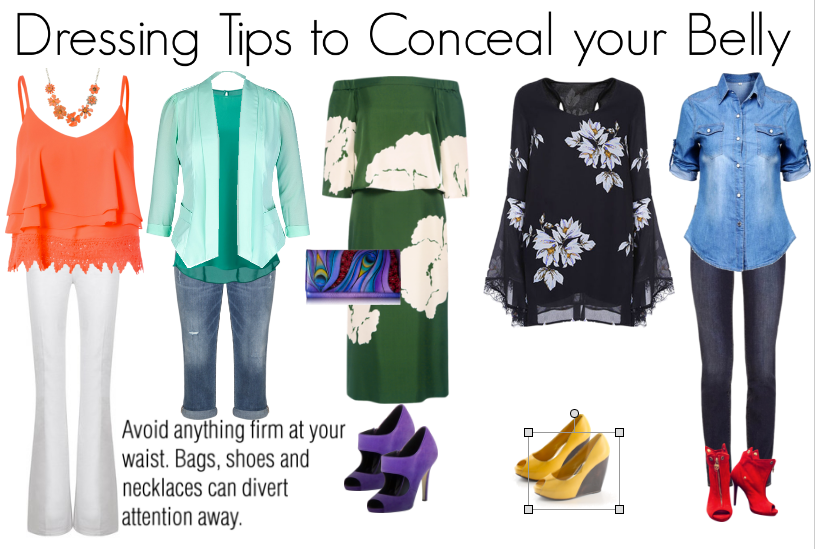 How to Reveal or Conceal your Belly