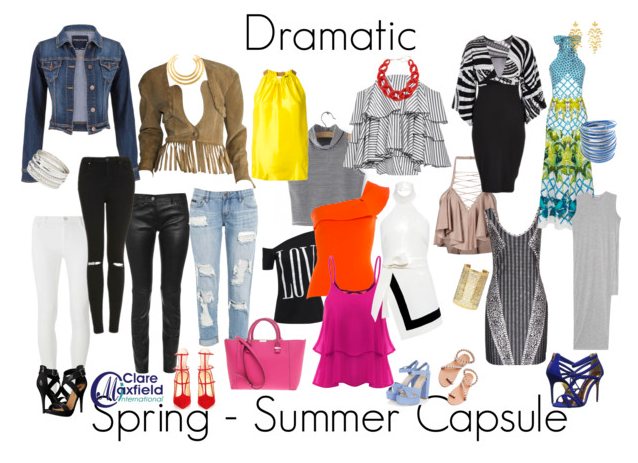 Upcoming Dramatic Personality Style Trend and Capsule Report 2016