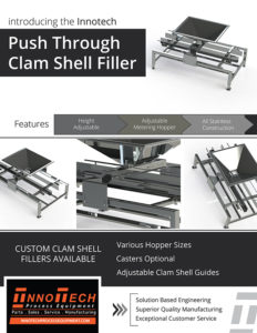 Clam Shell Filler Line Card