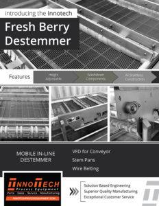 Fresh Berry Destemmer Line Card