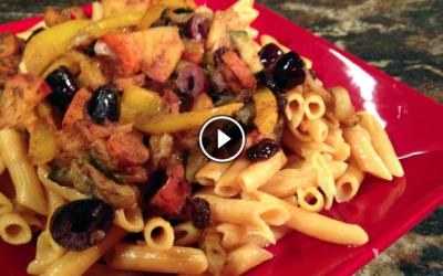 Christmas Confetti Pasta Recipe w/video